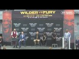 DEONTAY WILDER v TYSON FURY - *FULL & UNCUT* NEW YORK CITY PRESS CONFERENCE / WILDER-FURY