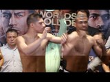 HEATED IN CHICAGO! - JESSIE VARGAS & THOMAS DULORME PULLED APART - AS PAIR CLASH AT WEIGH IN