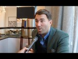 EDDIE HEARN (RAW IN BOSTON) -SAUNDERS, CHISORA/HAYE, WHYTE, CANELO-DAZN DEAL, WILDER TALKS, ESPINOZA