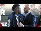 HEAVYWEIGHTS! - JARRELL MILLER MEANS BUSINESS - FACES OFF WITH BOGDAN DINU IN KANSAS / MILLER-DINU