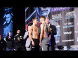 THE REVOLUTION WILL BE TELEVISED! MICHAEL CONLAN v JASON CUNNINGHAM OFFICIAL WEIGH IN & HEAD-TO-HEAD
