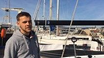 Eric Delamare nous fait visiter son bateau