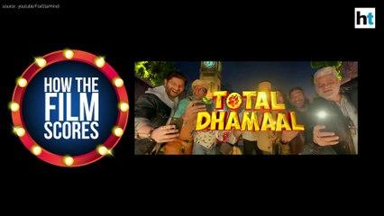 Raja Sen's movie review of Total Dhamaal