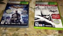 Batman: Arkham Asylum & Arkham City (Xbox 360) Game of the Year Editions