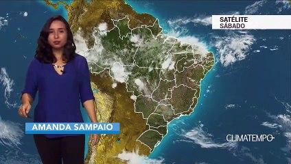 Previsão Brasil – Pancadas de chuva