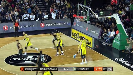 EuroLeague 2018-19 Highlights Regular Season Round 23 video: Darussafaka 75-97 Fenerbahce
