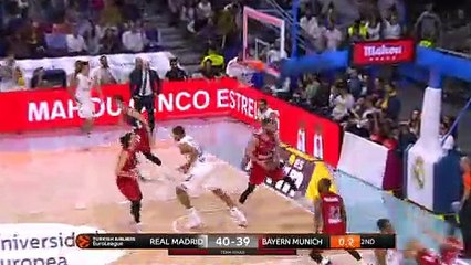 EuroLeague 2018-19 Highlights Regular Season Round 23 video: Madrid 91-78 Bayern