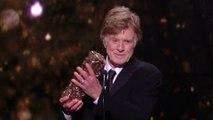 Standing ovation pour Robert Redford qui remporte le César d'Honneur - César 2019