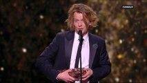 Alex Lutz reçoit le César du Meilleur Acteur pour Guy, qu'il a co-écrit et réalisé - César 2019