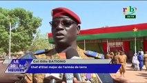 RTB - Prise de fonction officielle du nouveau Commandant, AdamNEREde la 2e légion militaire du Burkina Faso à Bobo-Dioulasso