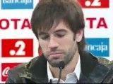 Albelda se despide del Valencia entre lágrimas