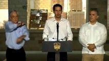 """Guaidó, desde Colombia: """"Estamos aquí gracias a la ayuda de los militares venezolanos"""""""
