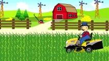 Lawn Mower | Farmer | Fairy Tales | Agriculteur De L'Herbe De Tonte € Un Conte De Tondeuse À Gazon