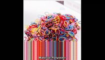 Cute Girls Colourful Ring Disposable Elastic Hair Bands Ponytail Holder Rubber Band Scrunchies