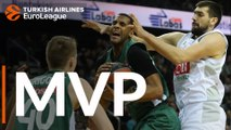 Turkish Airlines EuroLeague Regular Season Round 23 MVP: Brandon Davies, Zalgiris Kaunas