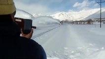 Snowfall at Drass Kargil Ladakh