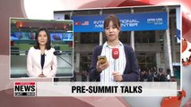 Working-level officials from North Korea-U.S. wrap up their 3rd day of talks quicker than before