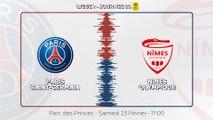Paris Saint-Germain - Nîmes Olympique : La bande-annonce