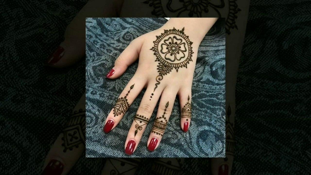 Make Stylish Round Shape Henna Design For Back Hand Gol Tikki Mehndi Design 2019 Mmp Video Dailymotion