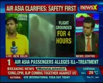 Air Asia passengers alleges ill-treatment; Kolkata-Bagdogra flight grounded