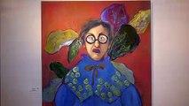 Εγκαίνια της έκθεσης ζωγραφικής της Σοφίας Βλαχογιάννη