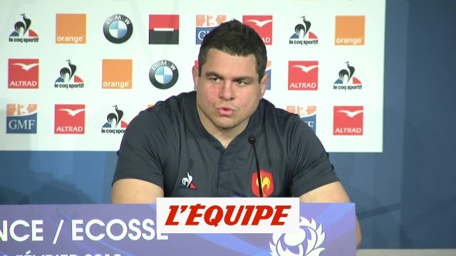 Guirado «Ce n'est ni le moment ni le lieu» - Rugby - Tournoi des 6 nations - Bleus