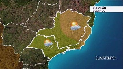 Previsão Sudeste – Pancadas de chuva
