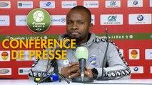 Conférence de presse US Orléans - FC Sochaux-Montbéliard (2-0) : Didier OLLE-NICOLLE (USO) - Omar DAF (FCSM) - 2018/2019