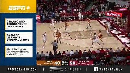 Texas vs. Oklahoma Basketball Highlights (2018-19)