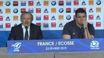 """XV de France - Brunel : """"Ntamack a bien animé l'équipe"""""""
