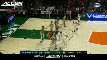 Georgia Tech vs. Miami Basketball Highlights (2018-19)