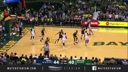 West Virginia vs. Baylor Basketball Highlights (2018-19)