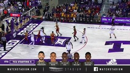 No. 19 Iowa State vs. TCU Basketball Highlights (2018-19)
