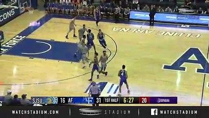 San Jose State vs. Air Force Basketball Highlights (2018-19)