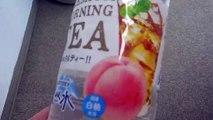 Clear Peach Tea in Japan!
