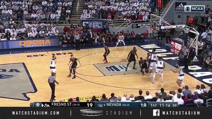 Fresno State vs. No. 6 Nevada Basketball Highlights (2018-19)