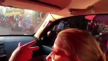 Maduro kullandığı araçla Caracas'ı gezip ABD'ye mesaj verdi - CARACAS