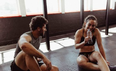 Tips on flirting in the gym