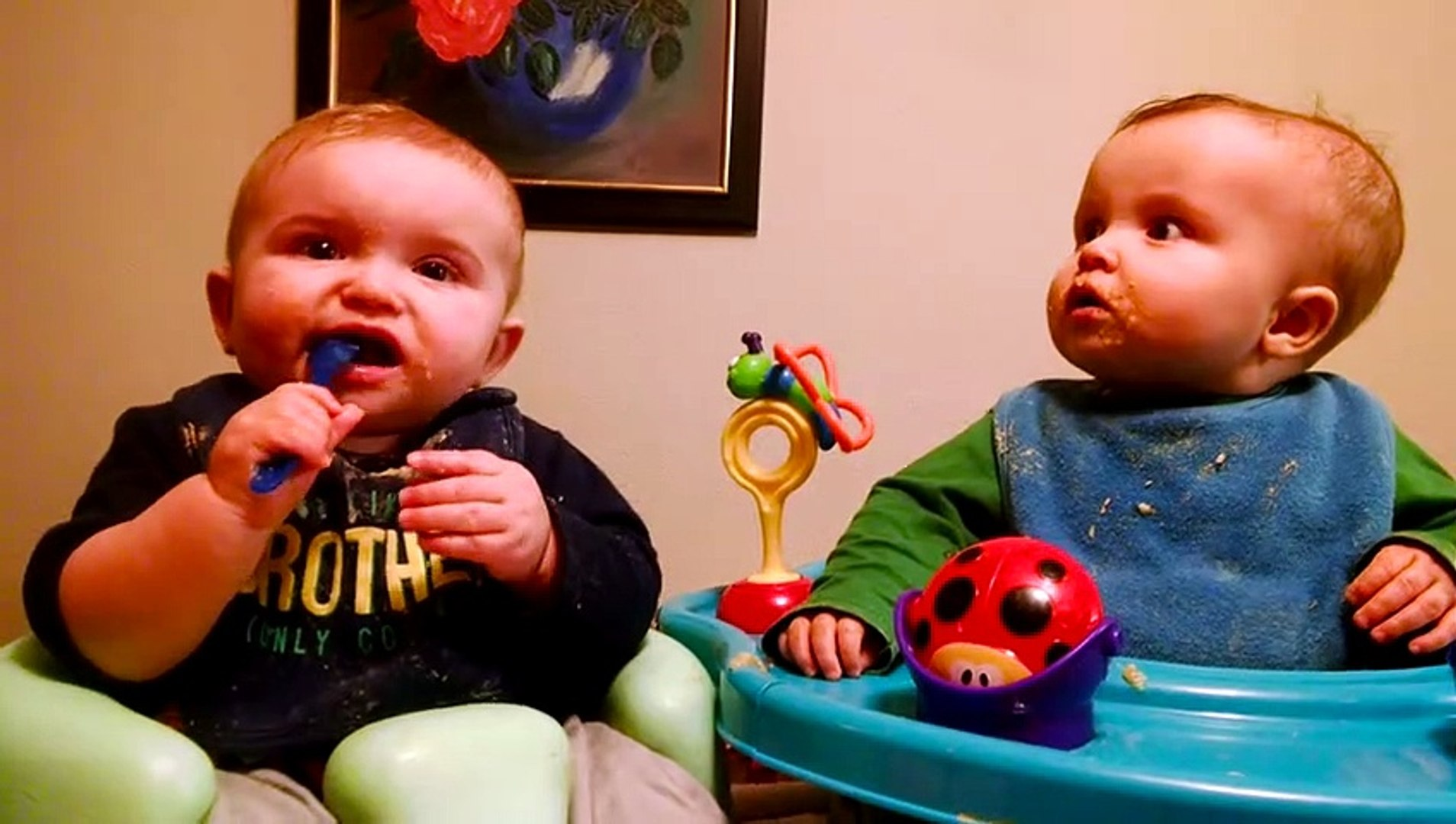 Cute Twins Baby Funny Cute Video