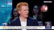 """Grand débat: Adrien Quatennens estime que """"rien n'en sortira en profondeur"""""""