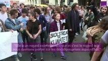 Climat : Greta Thunberg mobilise les jeunes à Paris