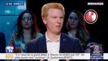 """Taxe carbone: Adrien Quatennens suggère de """"plutôt se pencher sur la suppression de niches anti-écologiques"""""""