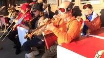 La fanfare Saties'faction de Honfleur