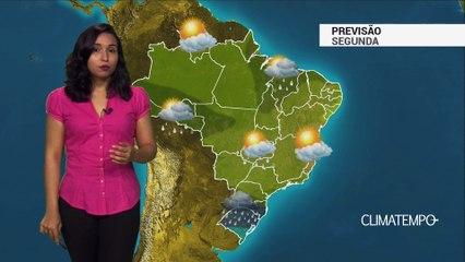 Previsão Brasil – Alerta para temporais na Região Sul
