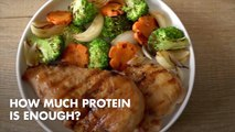 When Does Protein Become Too Much Protein