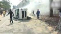 Violent protests in Itanagar over residency certificates, Deputy CM's house burnt