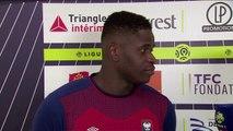 Réaction de Brice Samba après Toulouse FC / SMCaen