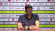 Conférence de presse Fabien Mercadal après Toulouse FC / SMCaen