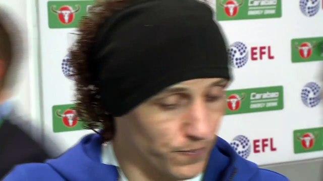 Player reaction as Manchester City win Carabao Cup on penalties amid Arrizabalaga row