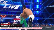 Rey Mysterio vs. Andrade - 2-out-of-3 Falls Match- SmackDown LIVE, Jan. 22, 2019